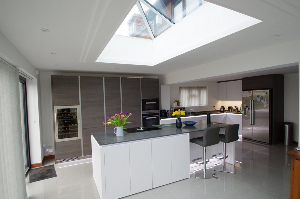 The Addition Of This Rear Extension Has Created A Beautiful Large U0026 Modern  Living Space With Natural Light Flooding In Through The Wall Of Bifold  Doors And ...